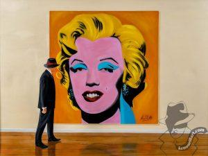 Admiring Marilyn