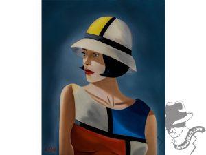 Mondrian Cloche